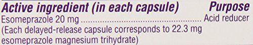 Nexium 24HR Acid Reducer Capsules for Heartburn Relief – 42 count  Nexium® 24hr…