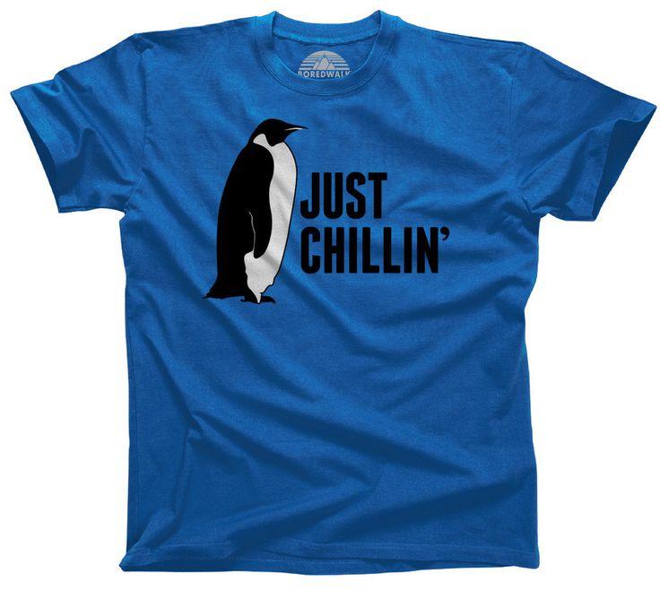 Men's Just Chillin' Penguin T-Shirt