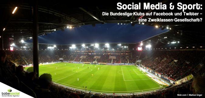 Die Bundesliga in Facebook & Twitter! Bayern München ist auf dem Fußballplatz aktuell kaum zu schlagen. Aber wie sieht es in Facebook und Twitter aus, können Borussia Dortmund, Schalke 04 und die anderen Bundesliga-Klubs dem aktuellen Champions League Siege rim Social Web das Wasser reichen?