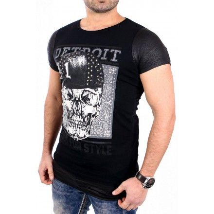 YourNewStyle Miesten T-paita - Miesten vaatteet netistä