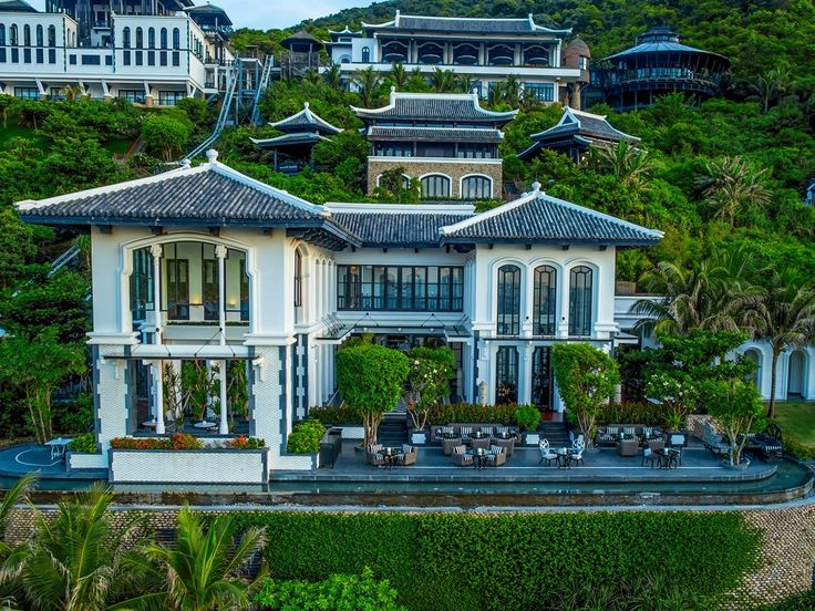 Why you love it: Camp out at the beach-facing InterContinental Danang Sun Peninsula Resort, among the thick overgrowth on Monkey Mountain, just above a private bay of the Son Tra Peninsula. The hilltop cluster of white, pitched-roof hideouts encompasses 200 suites, villas, and penthouses