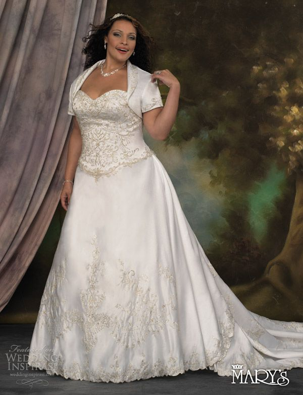 Wedding Dresses For Plus Size | marys bridal unspoken romance 2013 style 5753 plus size wedding dress