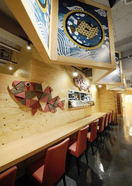 "LSD design co., ltd. ""KUJIRA ICHIGO""/2013/Izakaya/Oita, Japan/interior and facade design"
