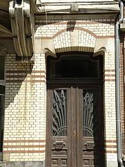 Zurenborg voordeur bruin
