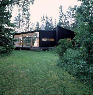 black cladding nordic design