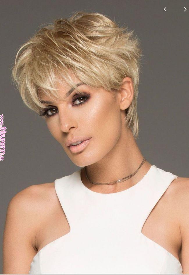 Kurze # blonde # Frisur # Haarschnitte