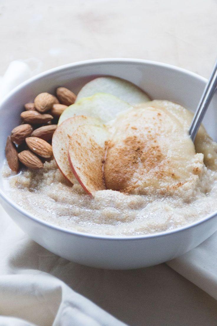 Amaranth Porridge - Frühstück vegan, glutenfrei