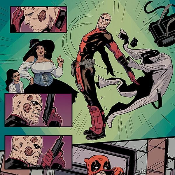 HAWKEYE VS. DEADPOOL #0: So Why Are THEY Fighting?