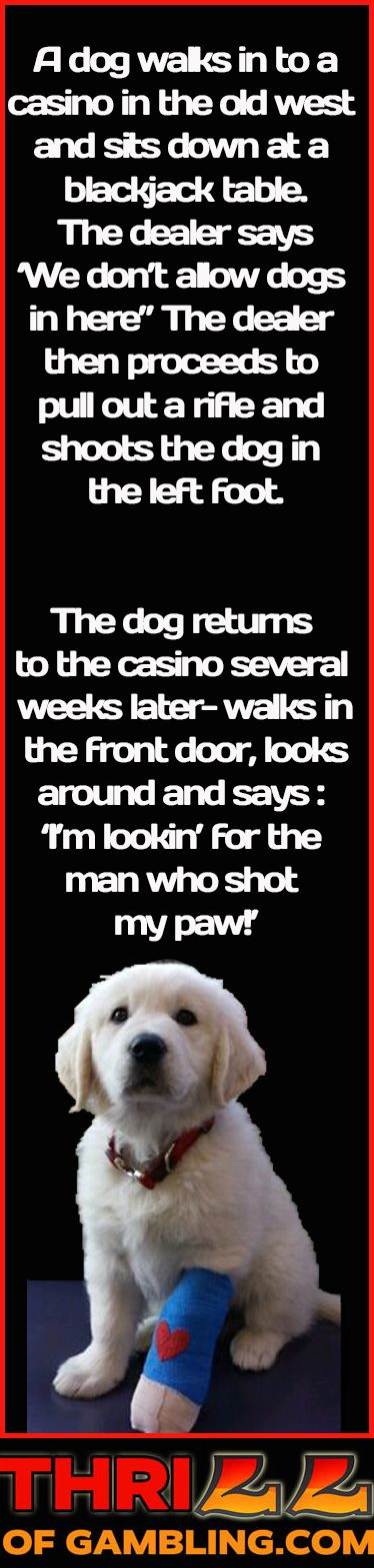 Short funny gambling jokes special event planning casino