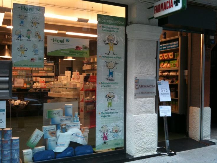 Farmacia Sarasketa. #Amorebieta