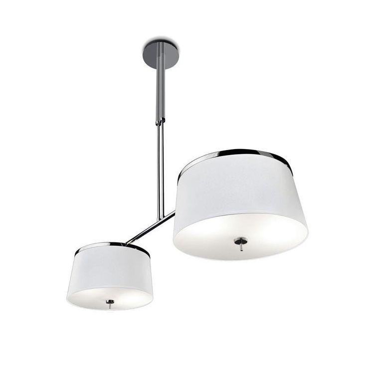Leila Aluminium And Chrome Double Pendant - GROK 20-2407-AG-14  sc 1 st  Pinterest & 29 best LEDs-c4 images on Pinterest | Ceilings Appliques and Arc ... azcodes.com