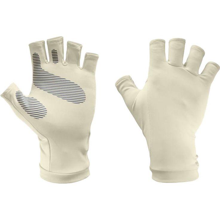 Sunday Afternoons UVShield Sun Gloves, Men's, Size: S/M, Ivory