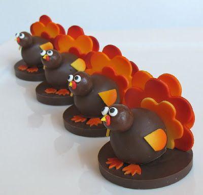 Turkey Cake Balls! - Sugared Productions Blog