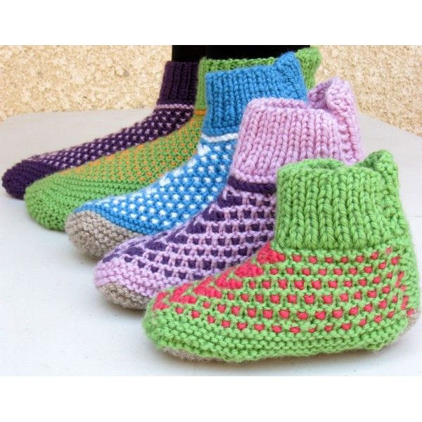 free pattern for slippers for toddlers Amazing Siberian Slippers for Kids, ...