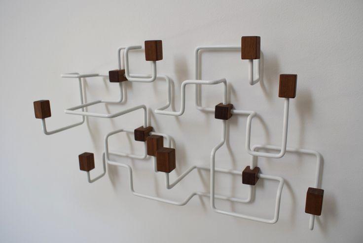 Gejst - Hvid underground knagerække - Tinga Tango Designbutik.