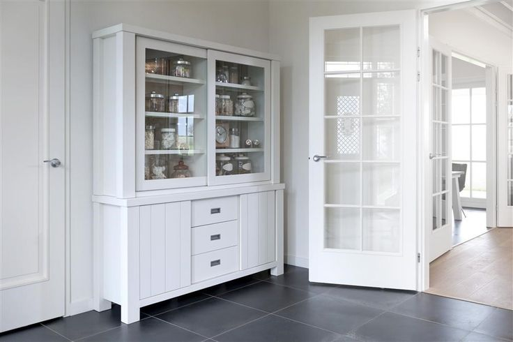 Stylish glass cabinet Istonia to give your house some modern romance.