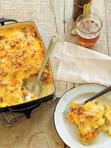 Polenta lasagna, Polenta and Blue cheese on Pinterest