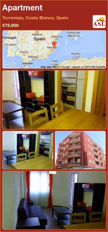 Apartment in Torrevieja, Costa Blanca, Spain ►€79,900 #PropertyForSaleInSpain