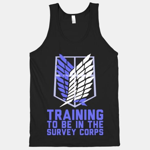 Training To Be In The Survey Corps | HUMAN