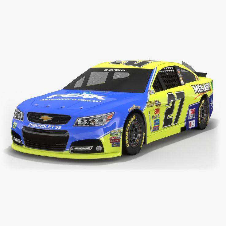 #RichardChildressRacing currently fields 3 cars in #Nascar 2017. We have already presented 3D models for 2 of them. And today it is turn of a #racing car, driven by Paul Menard, to be presented. We especially like these blue and yellow colors. Do you like them as well? #lowpoly #PBR #3Dmodel #opticaldreamsoft