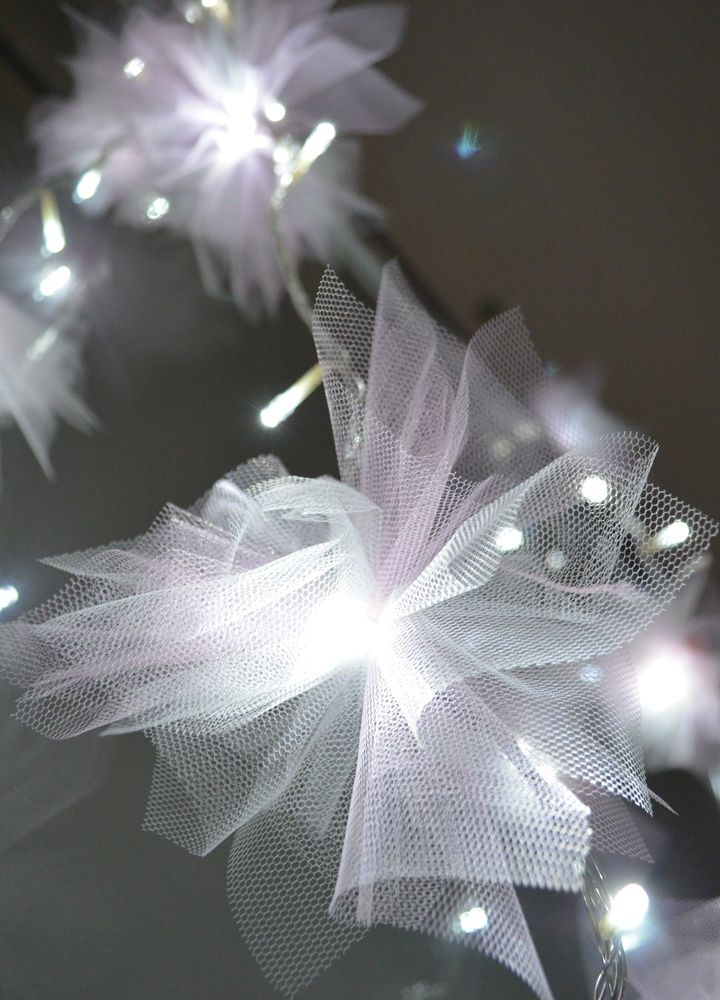 Make your own Fairy Lights for a wedding reception, holiday decoration or even a dorm room.. easy elegance :)