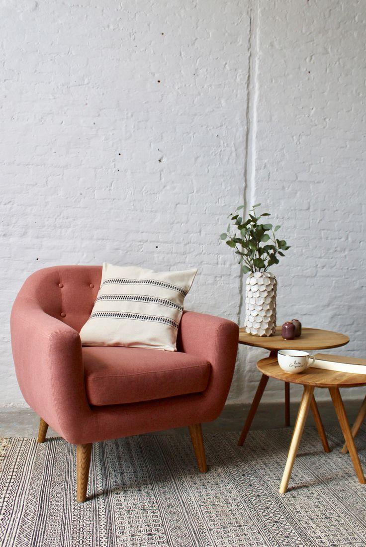 Pink sofa from Sofa Company