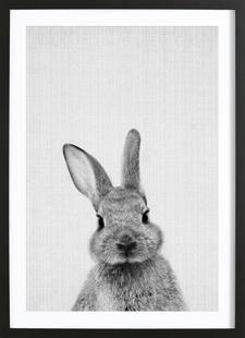 Print 48 - Lila x Lola - Affiche encadrée - bois