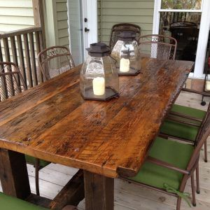 Reclaimed Kitchen Tables Wood