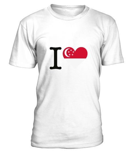 """# I Love Singapore .  Get this BEST-SELLING T-ShirtCHECK OUT OUR SHOP!Guaranteed safe and secure payment with:Best quality on the market, great selection of colors and styles!Singapore is an island and city state and the smallest country in Southeast Asia in terms of area. The name """"Singapore"""" is derived from the Sanskrit and is composed of Singha (Lion) and Pura (city).(Republic, Flag, Asia, Indochina, Malaysia, colony, Commonwealth, harbor, chinese, island)"""