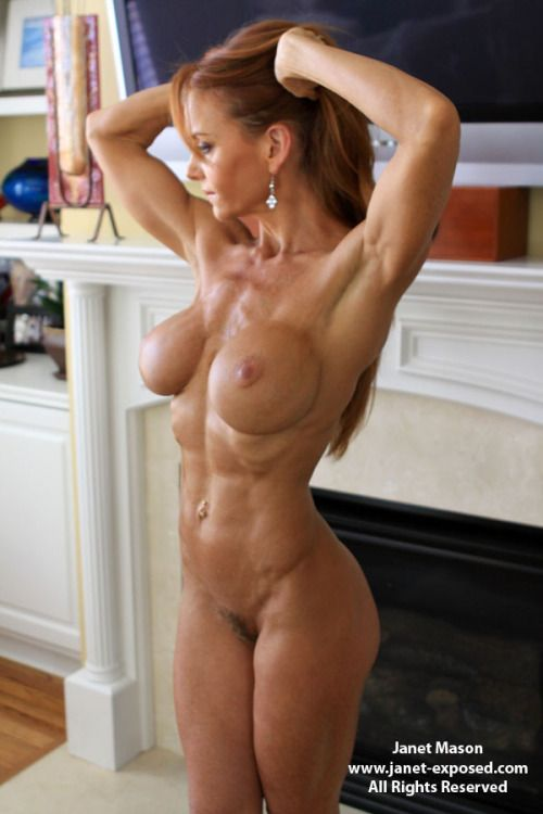 self shot nude female muscle pics