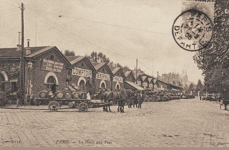Les Halles aux Vins - Paris 12ème vers 1900