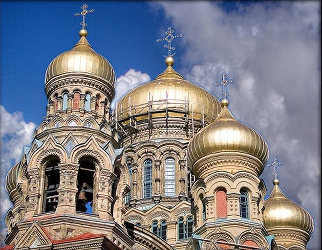 Orthodox Church in Latvia. Travel in Latvia (EU) and learn fluent Russian with the Eurolingua Institute http://www.eurolingua.com/russian/russian-homestays-in-latvia