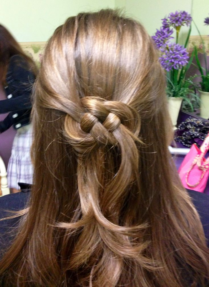 Celtic Infinity Knot Interesting Hair Hair Long
