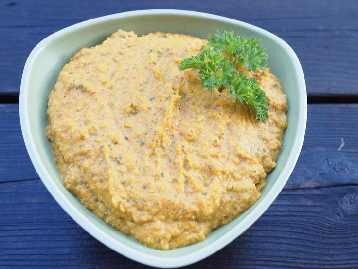 Hummus med curry, koriander och persilja från Ulriksdal