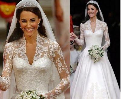 Catherine Duchess Of Cambridge Kate Middleton Wedding Day