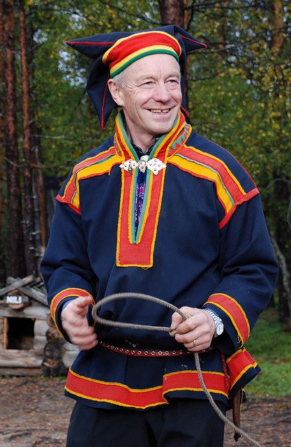 Sami costume by Theo Wright, via Flickr