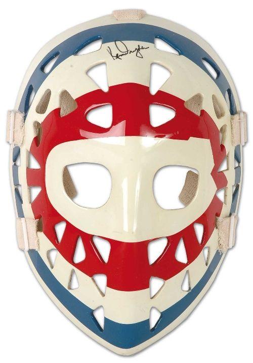 Ken Dryden Autographed Mask