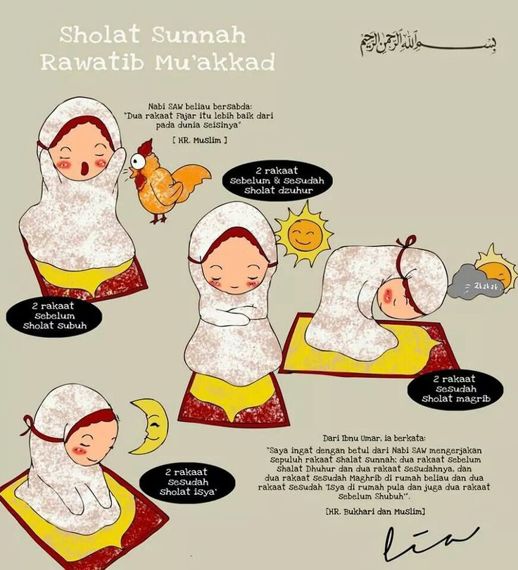 Shalat sunnah rawatib muakad