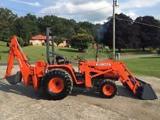 KUBOTA B20 DIESEL BACKHOE LOADER TRACTOR 4X4 ALL IN ONE 540 PTO 3 POINT HITCH backhoe loader financing apply now www.bncfin.com/apply