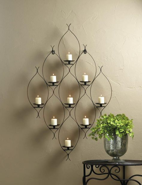 25 Best Wall Mounted Candle Holders Ideas On Pinterest