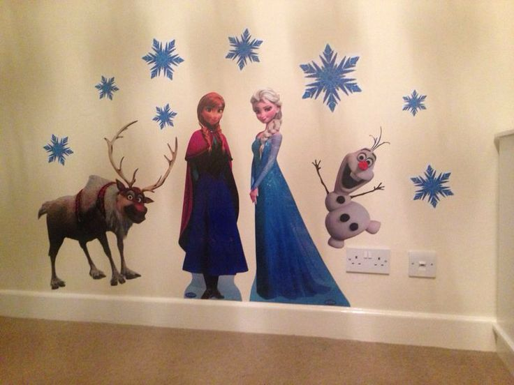 Beau Frozen Wall Stickers | Frozen Bedroom Ideas By  Www.dreamcraftfurniturr.co.uk | Pinterest | Frozen Bedroom, Wall Sticker  And Bedrooms