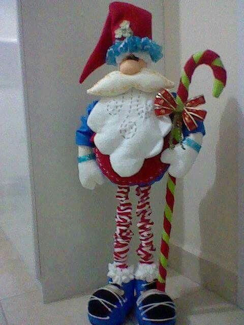 Santa (7 moldes)