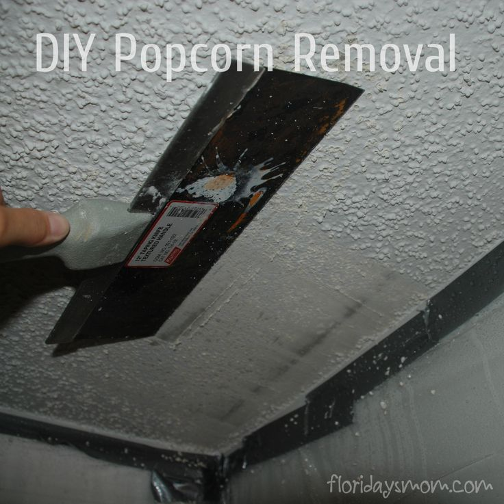 Removing Popcorn Ceilings