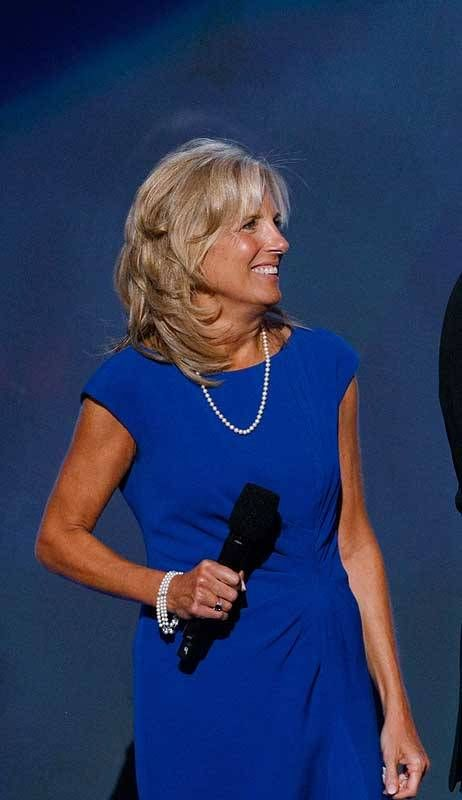 jill biden | Jill Biden, taken on day three of the Democratic National Convention ...