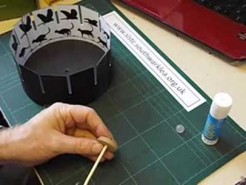 How to make a zeotrope