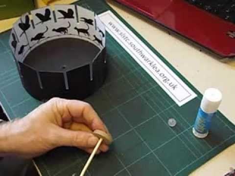How to make a zeotrope