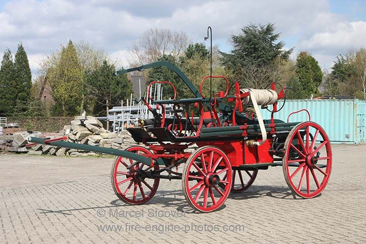 Old Fire Trucks | Fire Engines Photos - Old Fire engine brandweer Hunsel
