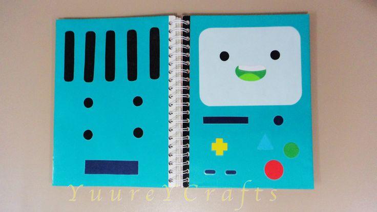 Forra / Decora Tus Cuadernos Como BMO