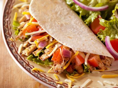 Tasty and #Healthy #Taco #Recipe ............................................................................ The Nutrition Twins Blog  http://pinterest.com/nutritiontwin/