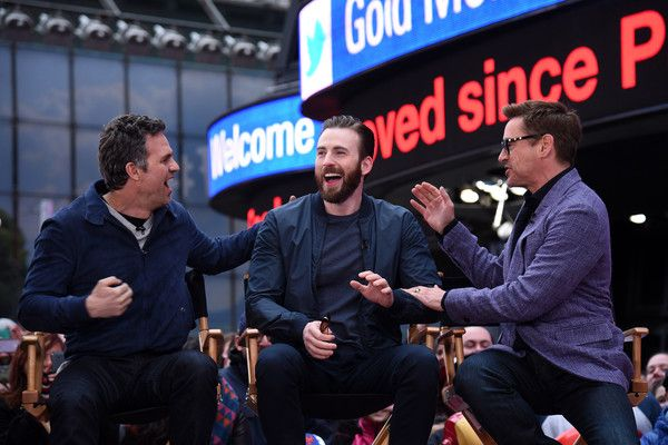 Marvel's 'Avengers: Age Of Ultron' Takeover Times Square On 'Good Morning America'